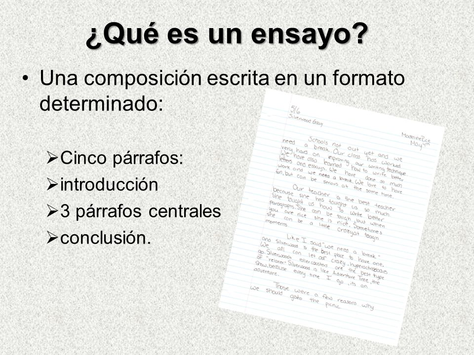 Como escribir un essay en espanol   Boothe Prize Essays     YouTube