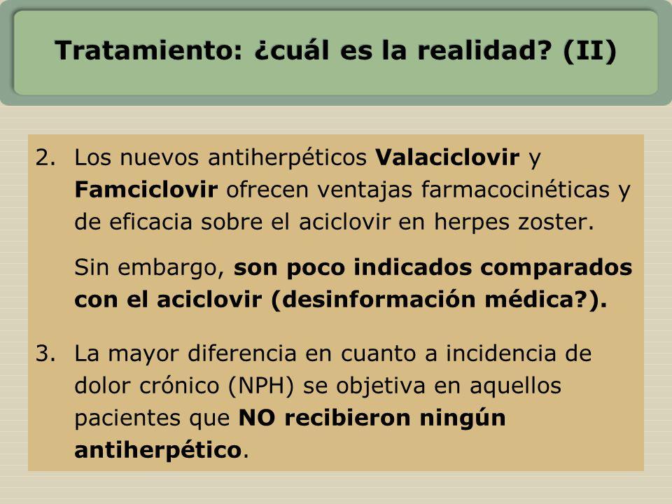 Tratamiento: ¿cuál es la realidad (II)