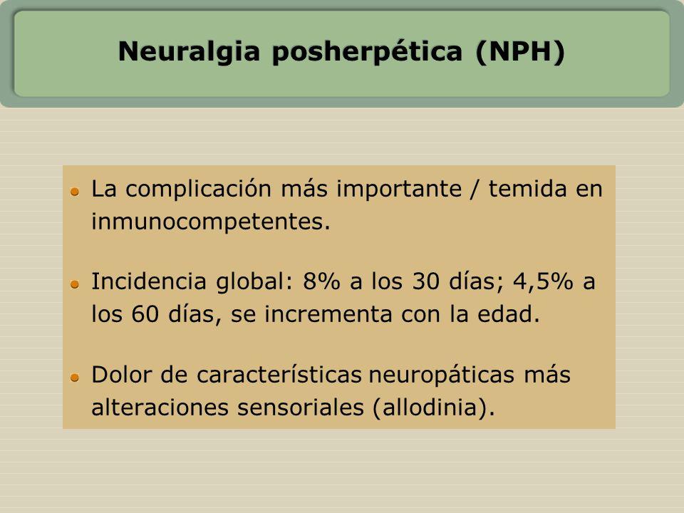 Neuralgia posherpética (NPH)