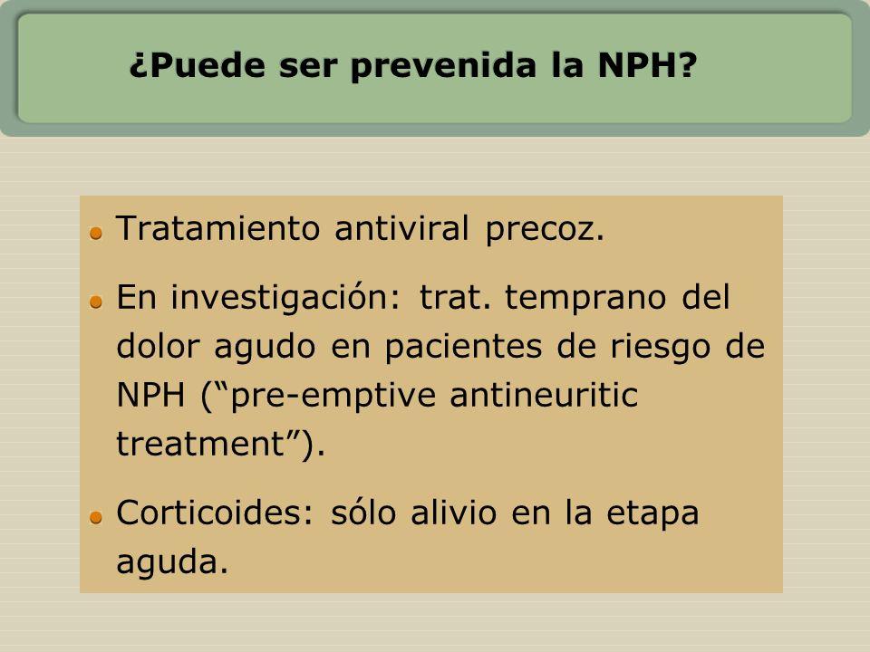 ¿Puede ser prevenida la NPH