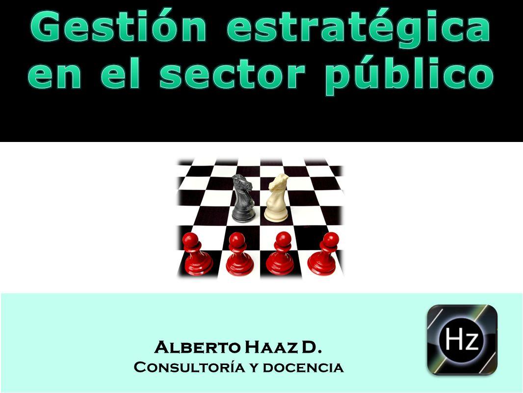 Gestión estratégica en el sector público