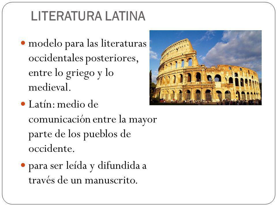 epocas de la literatura latina - photo#33