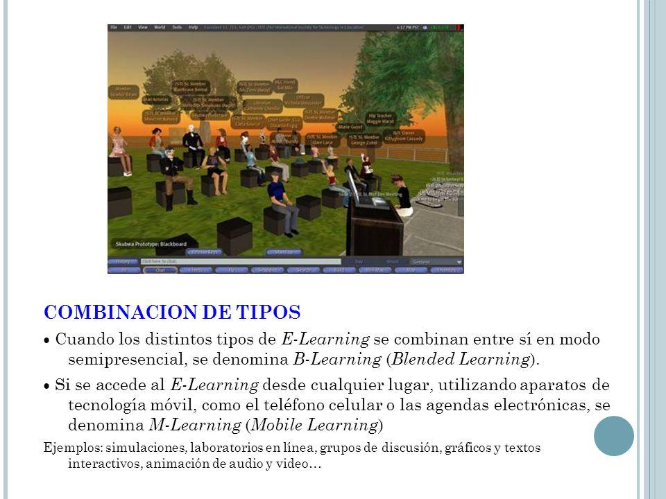 COMBINACION DE TIPOS