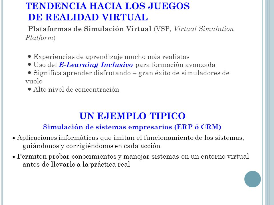 Simulación de sistemas empresarios (ERP ó CRM)