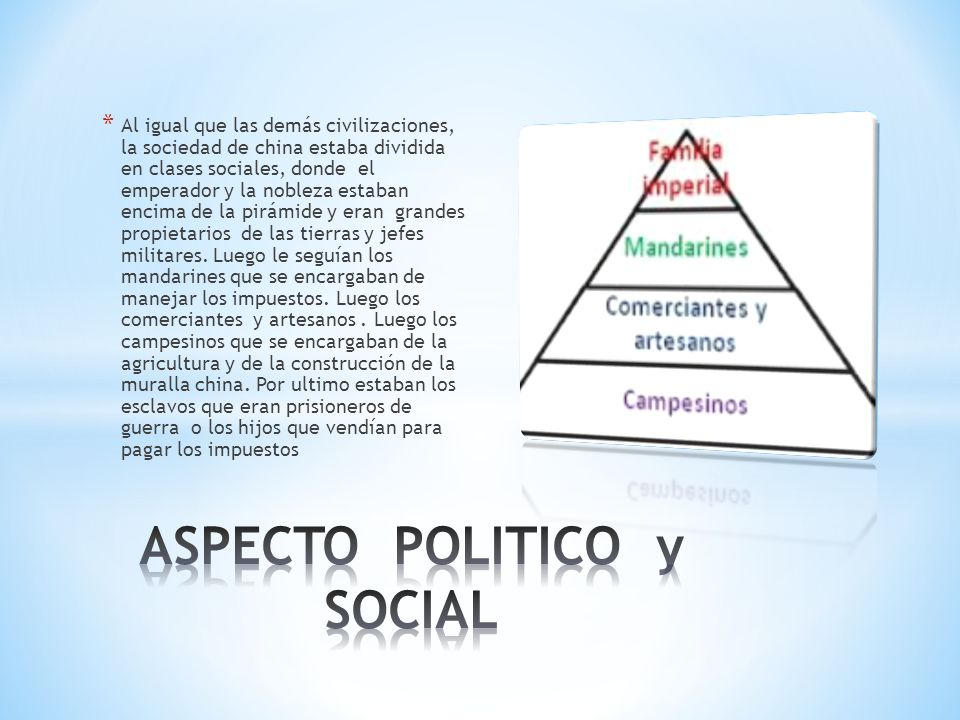 ASPECTO POLITICO y SOCIAL