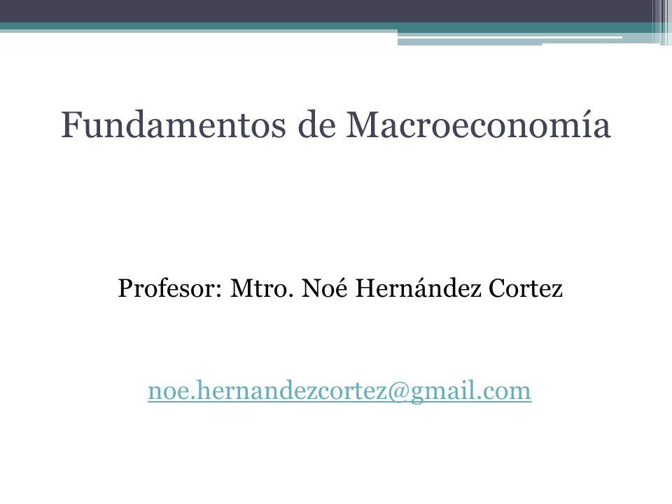 Fundamentos de Macroeconomía