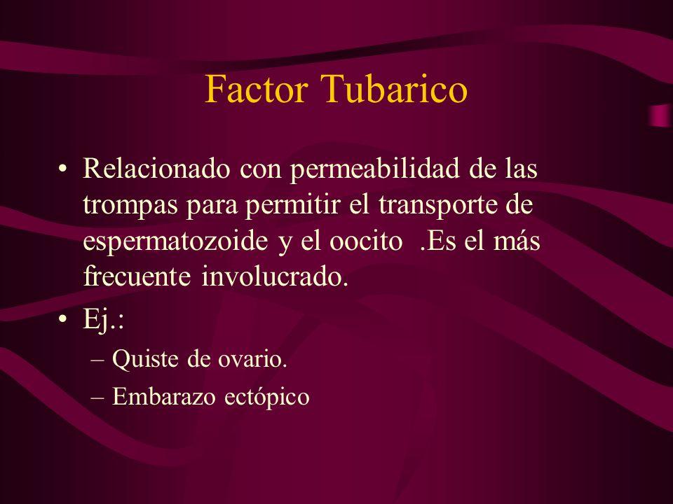 Factor Tubarico