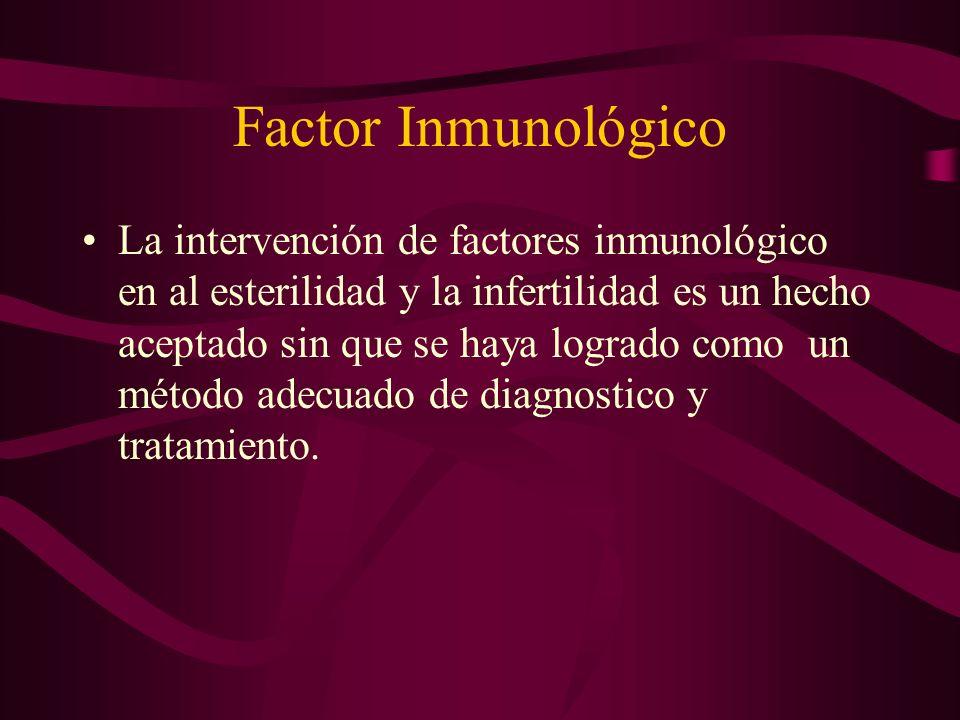 Factor Inmunológico