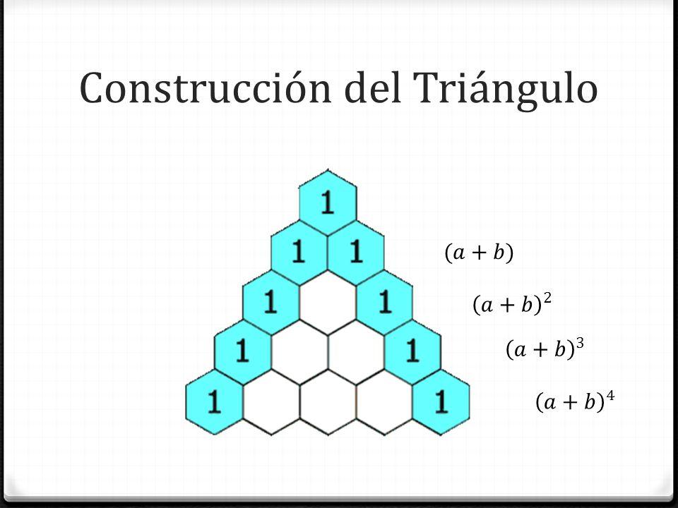 Construcción del Triángulo