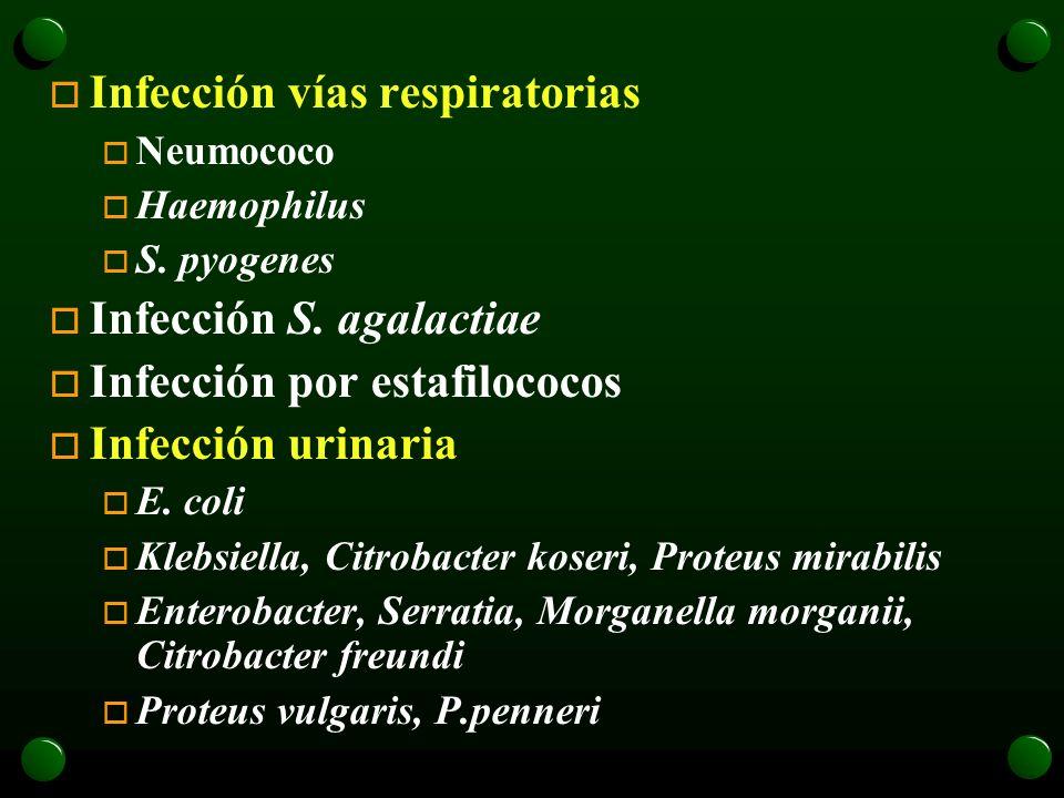 Infección vías respiratorias