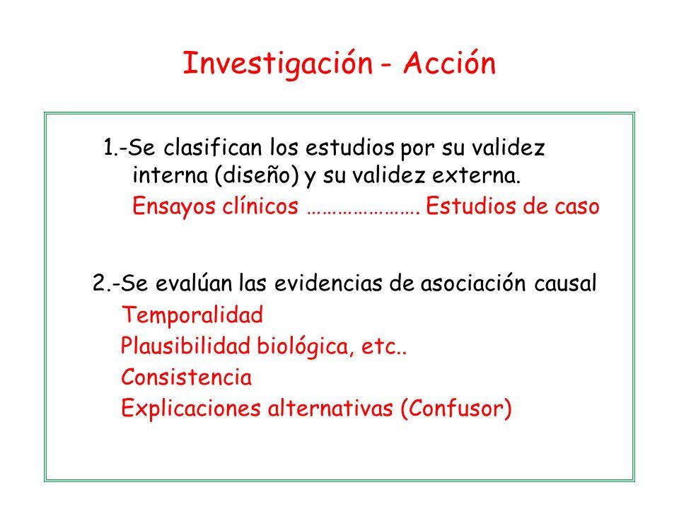 Investigación - Acción
