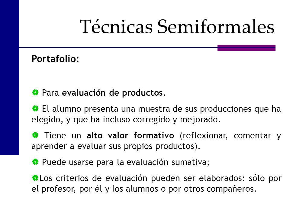 Técnicas Semiformales