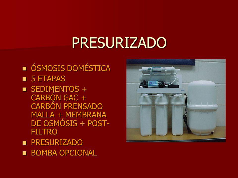 Plantas depuradoras domesticas para agua de consumo ppt - Depuradora agua domestica ...