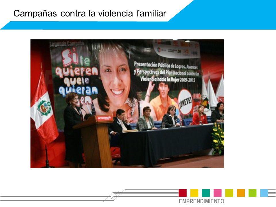 Campañas contra la violencia familiar