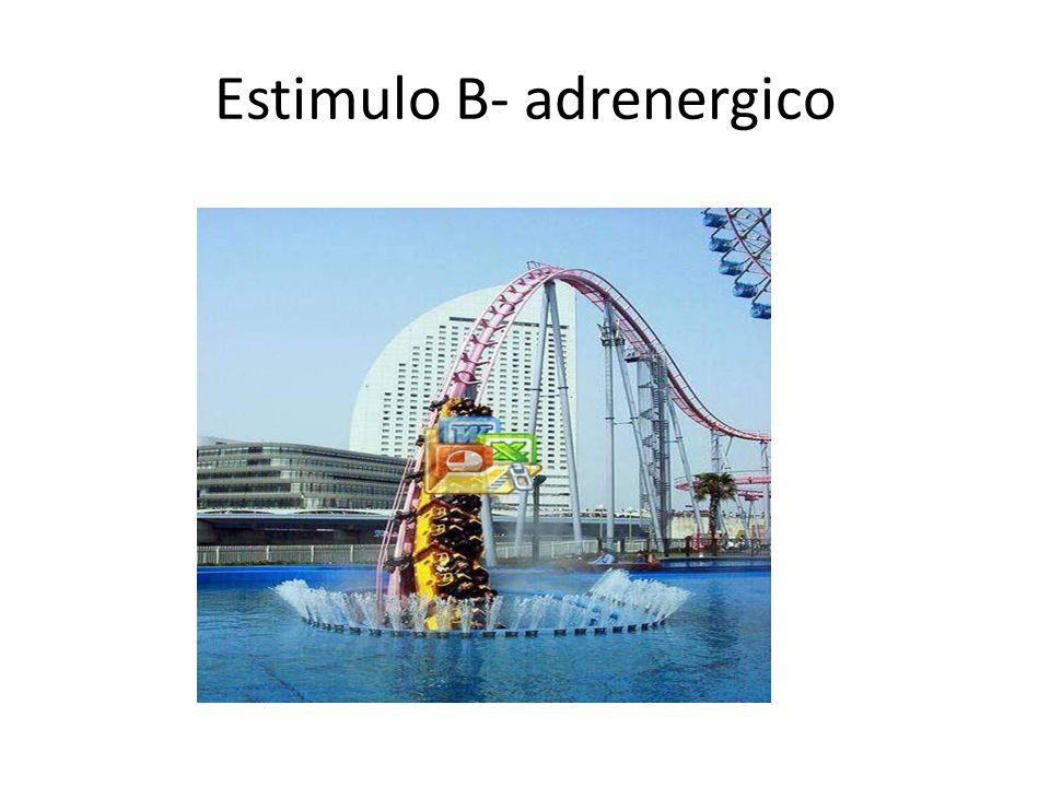 Estimulo B- adrenergico