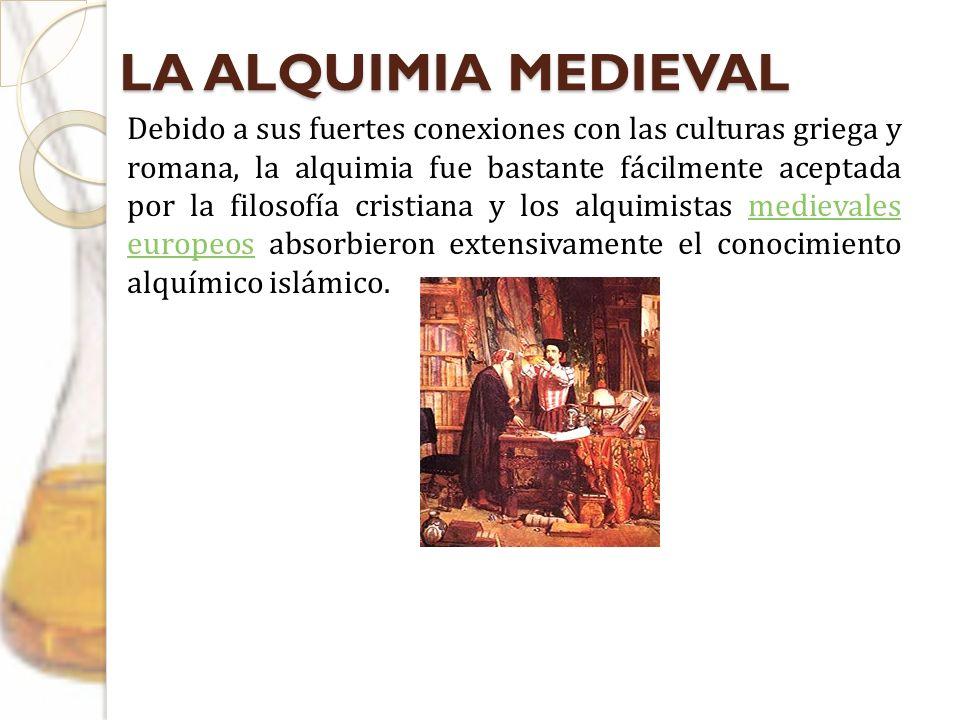 LA ALQUIMIA MEDIEVAL