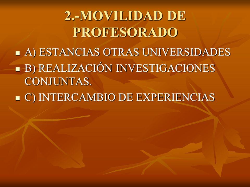 2.-MOVILIDAD DE PROFESORADO