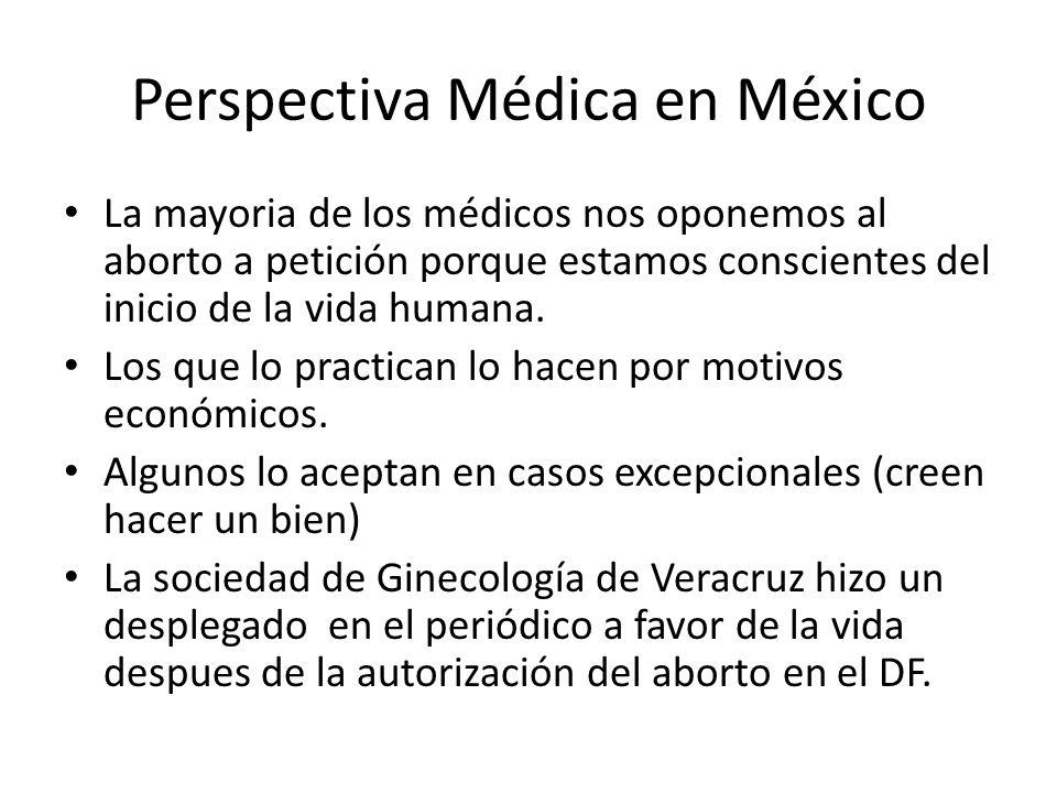 Perspectiva Médica en México