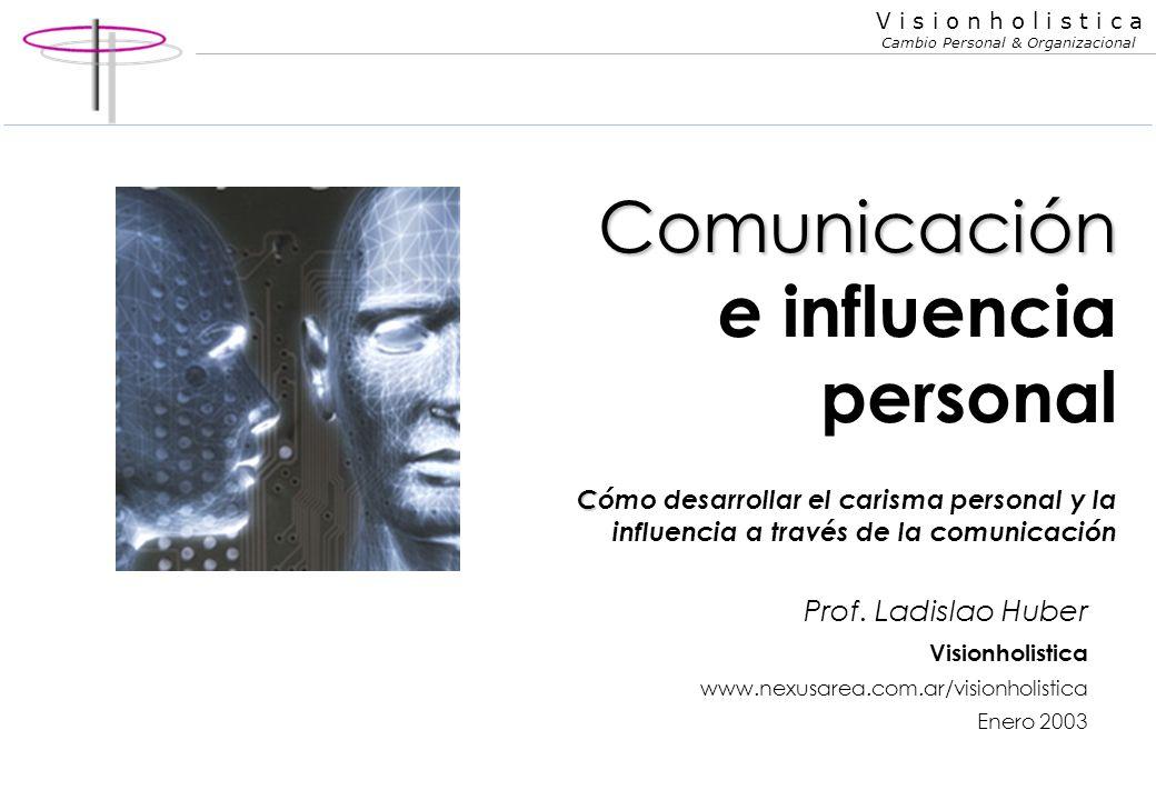 Comunicación e influencia personal Cómo desarrollar el carisma personal y la influencia a través de la comunicación