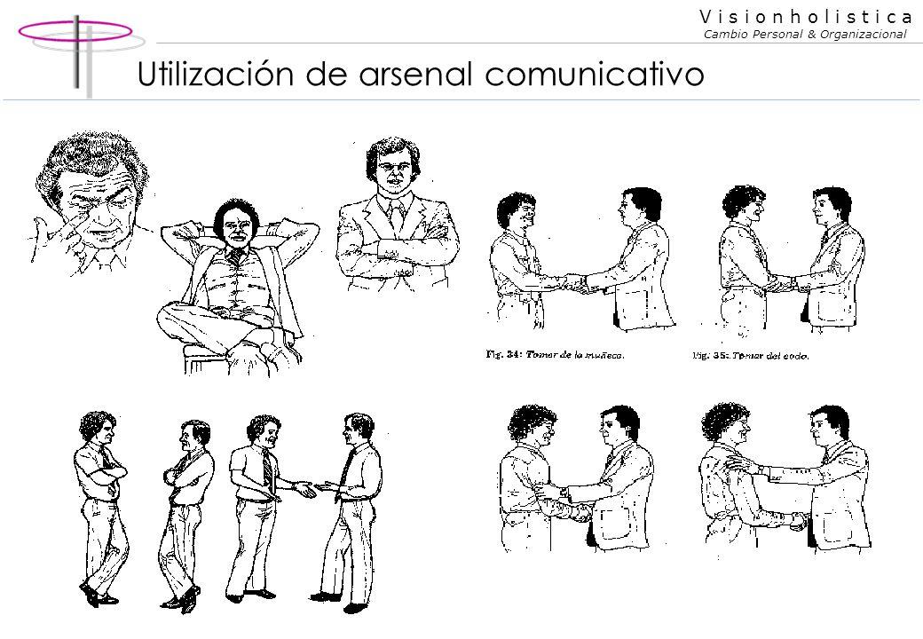 Utilización de arsenal comunicativo