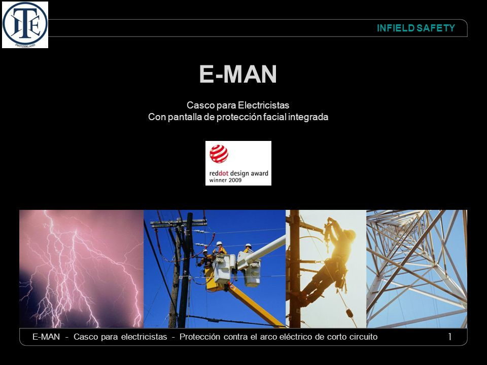 E-MAN Casco para Electricistas