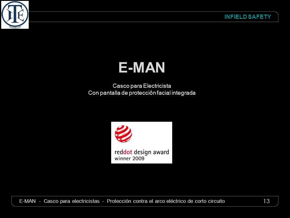 E-MAN Casco para Electricista