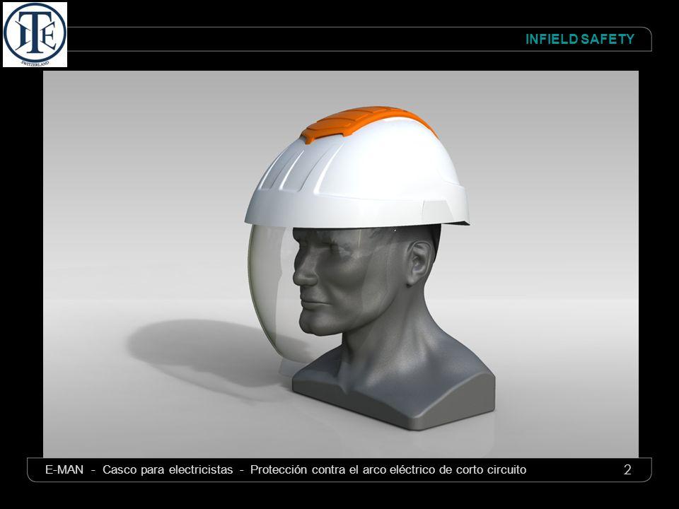 E-MAN- Casco para Electricistas – Protecciôn contra el Arco eléctrico de corto circuito