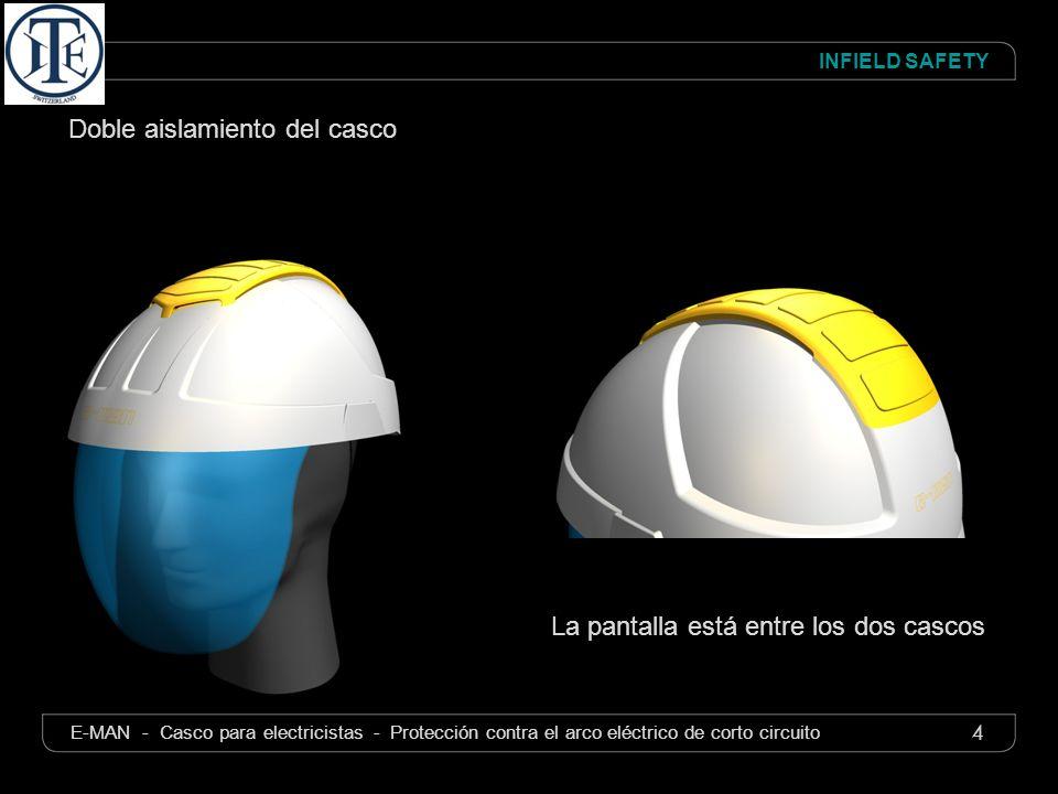 Doble aislamiento del casco