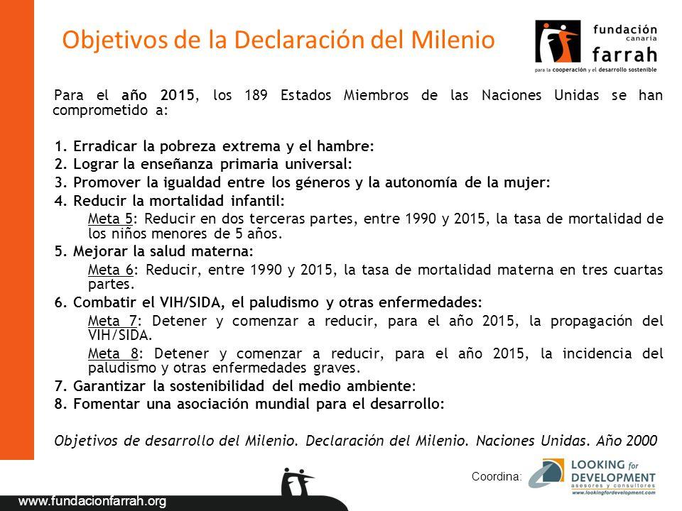 Objetivos de la Declaración del Milenio