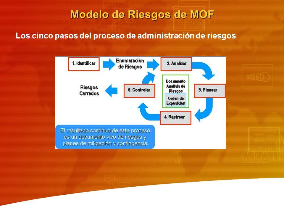 Modelo de Riesgos de MOF