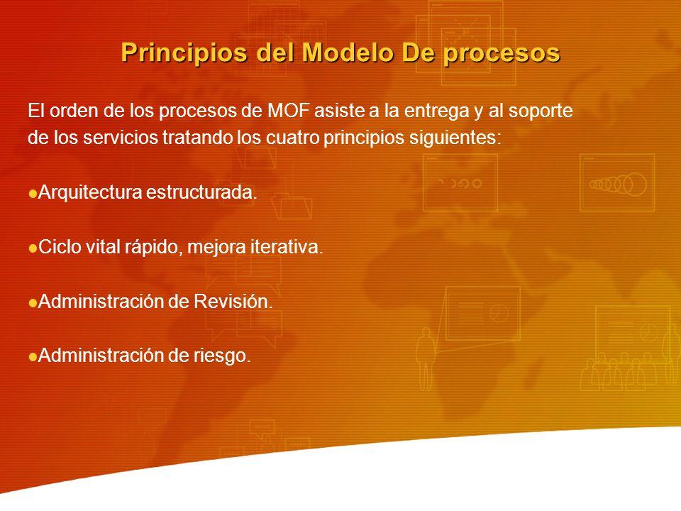 Principios del Modelo De procesos