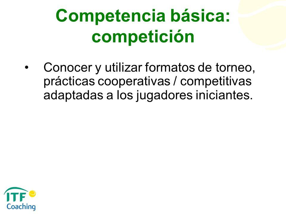 Competencia básica: competición