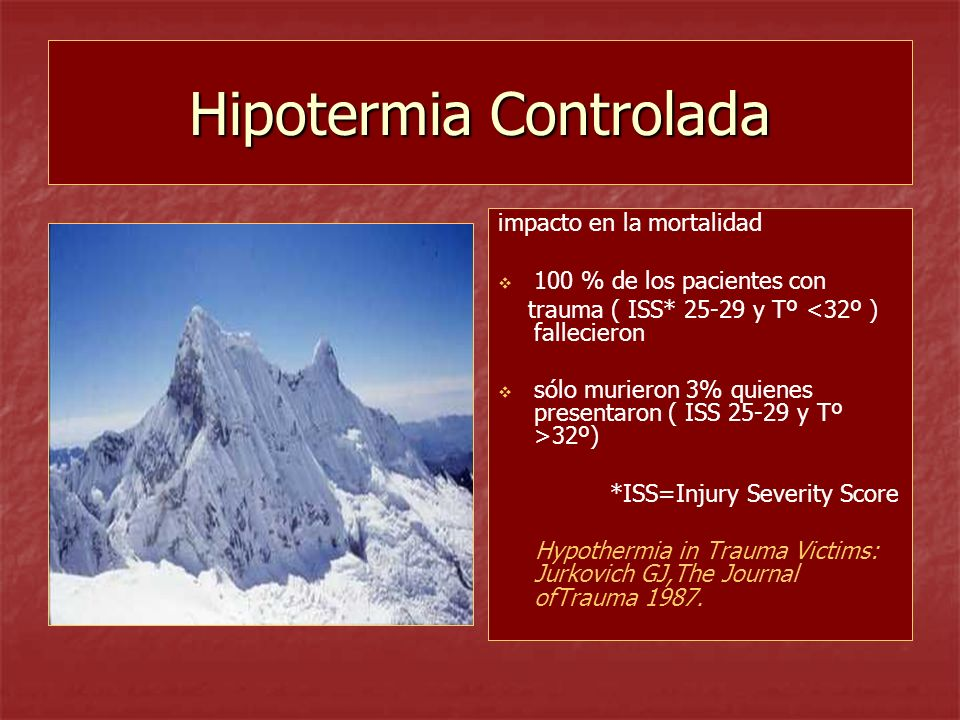 Hipotermia Controlada