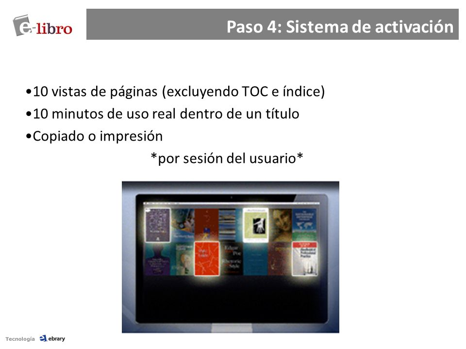 Paso 4: Sistema de activación