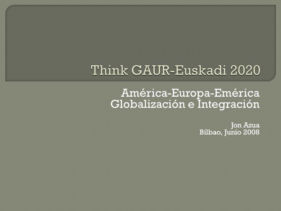 Think GAUR-Euskadi 2020 América-Europa-Emérica