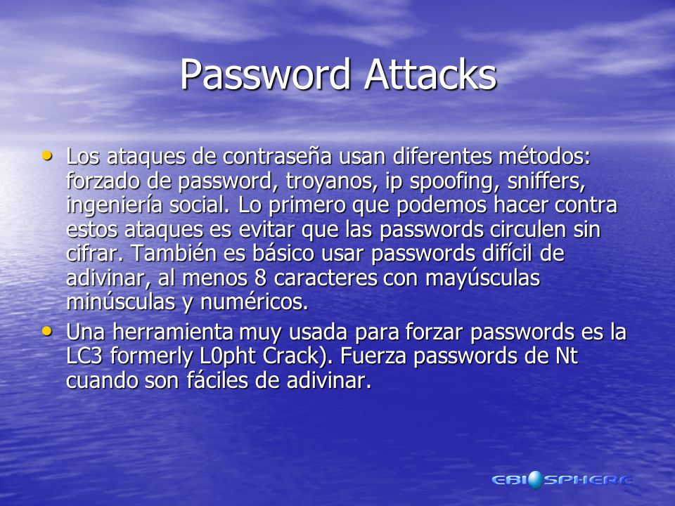 Password Attacks