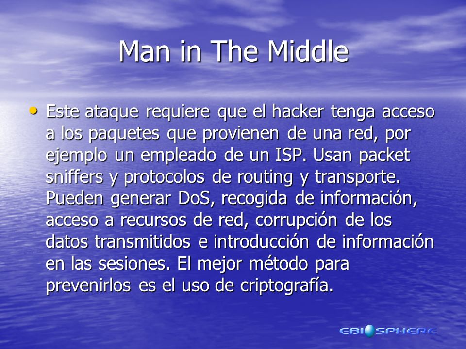 Man in The Middle