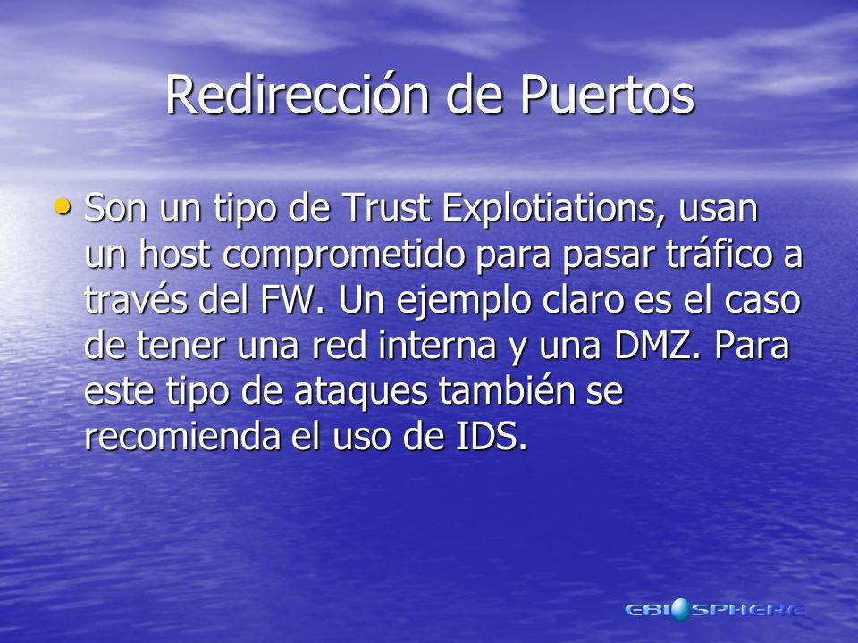 Redirección de Puertos