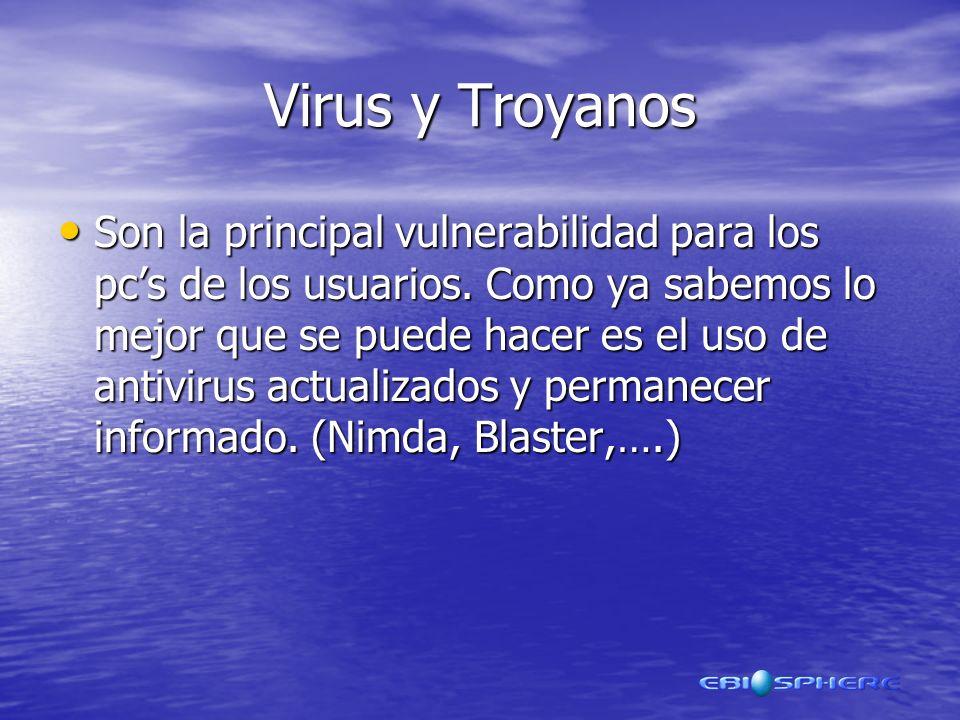 Virus y Troyanos