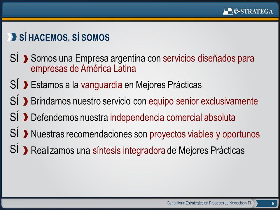 SÍ HACEMOS, SÍ SOMOS SÍ. Somos una Empresa argentina con servicios diseñados para empresas de América Latina.