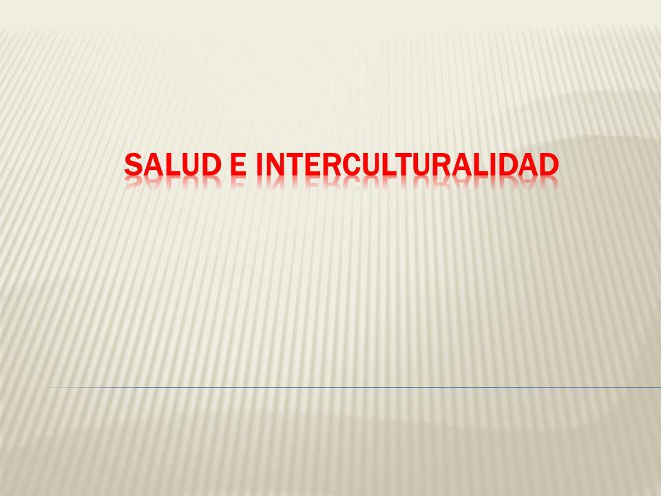Salud e interculturalidad