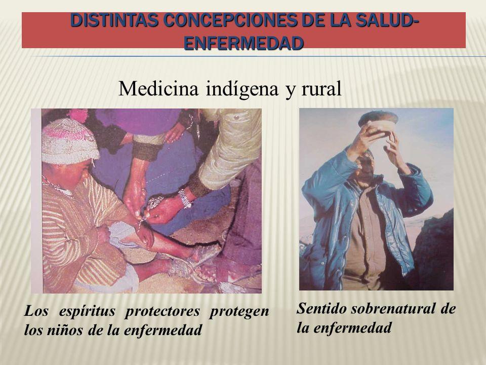 Distintas concepciones de la salud- enfermedad
