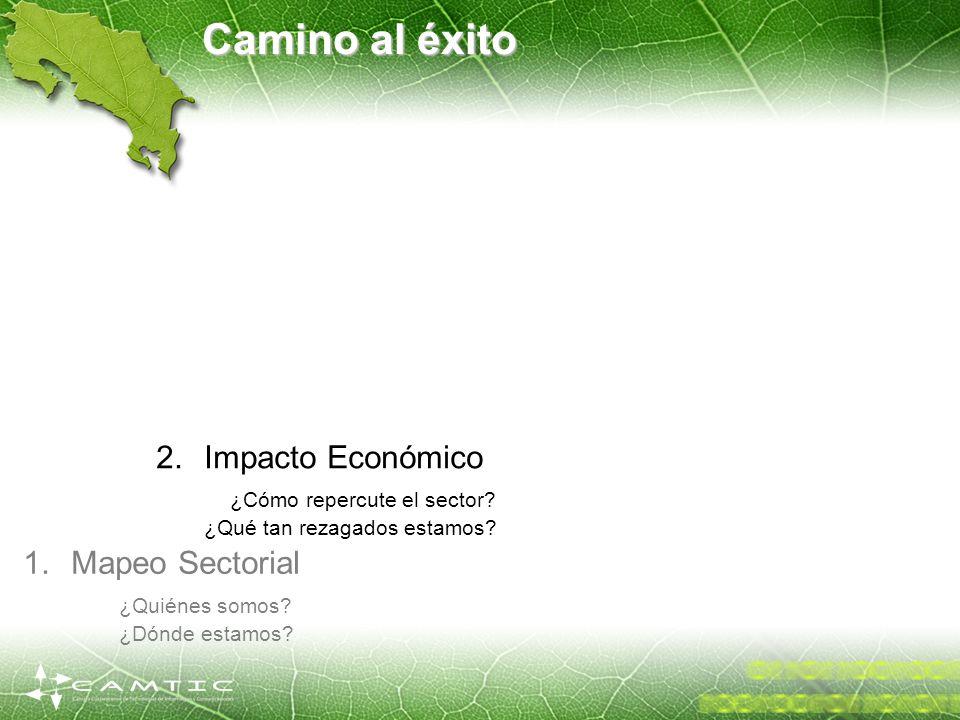 Camino al éxito Impacto Económico ¿Cómo repercute el sector