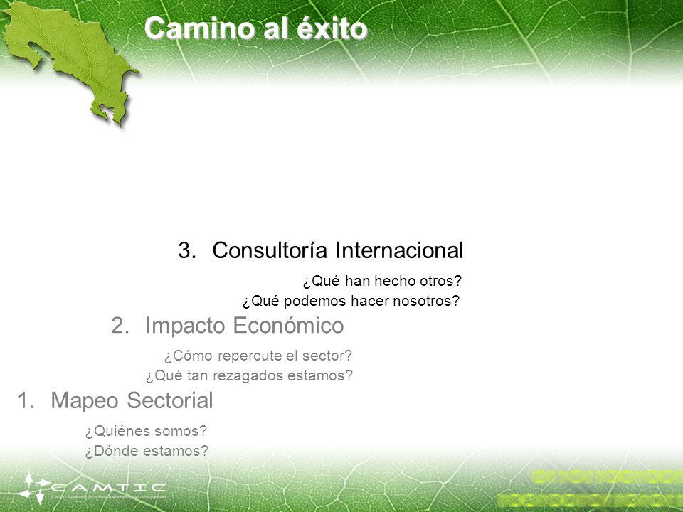 Camino al éxito Consultoría Internacional ¿Qué han hecho otros