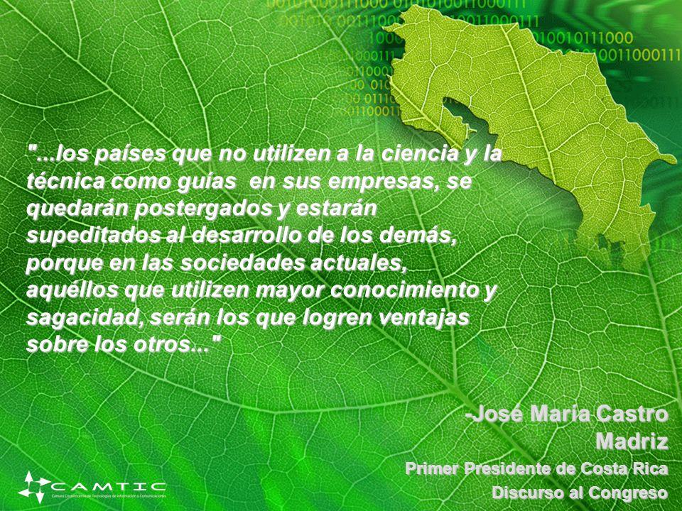 -José María Castro Madriz