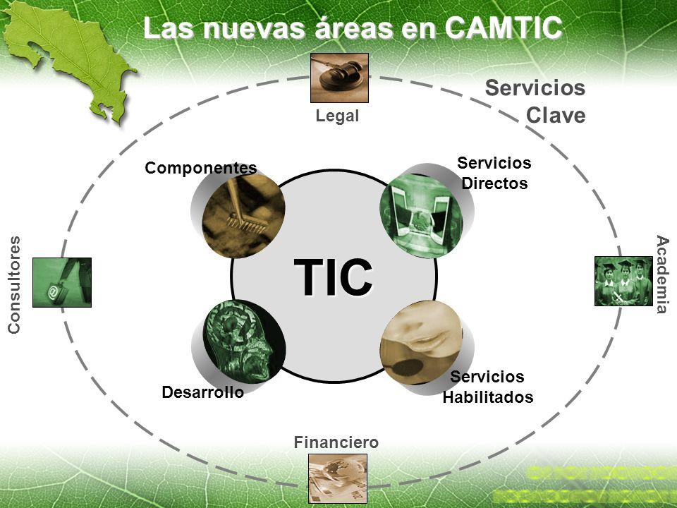 Las nuevas áreas en CAMTIC
