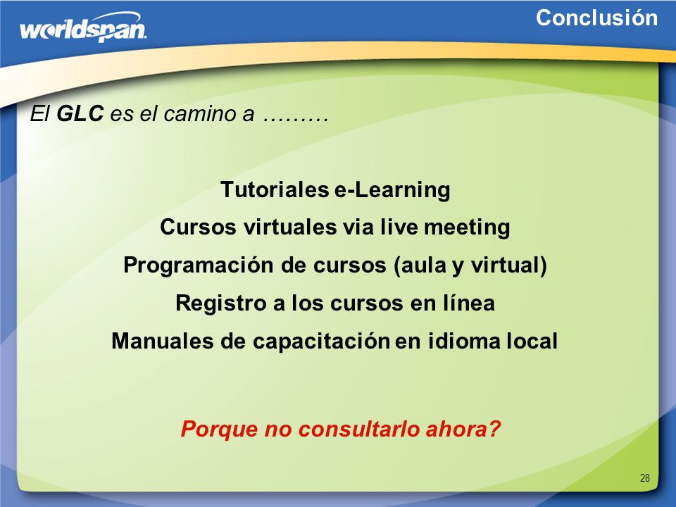 Tutoriales e-Learning Cursos virtuales via live meeting