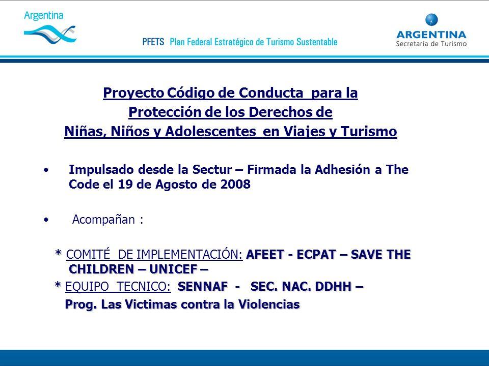 Proyecto Código de Conducta para la Protección de los Derechos de