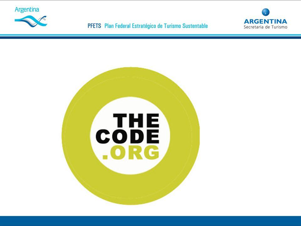Este es el logo de identifica al Código de Conducta Internacional (The Code)