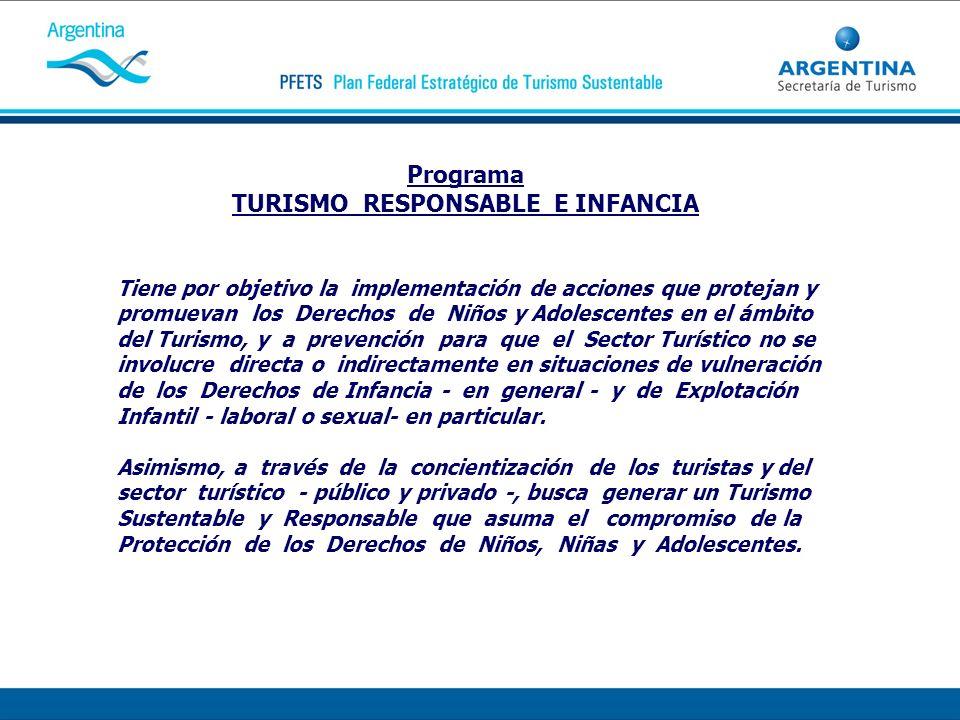 TURISMO RESPONSABLE E INFANCIA